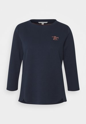 BASIC - Long sleeved top - real navy blue