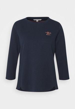 BASIC - Top sdlouhým rukávem - real navy blue