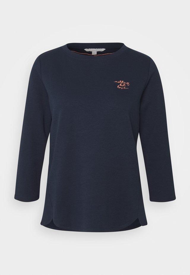 BASIC - Camiseta de manga larga - real navy blue