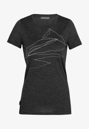 SPECTOR - Print T-shirt - grau