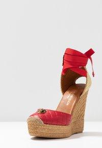 Kurt Geiger London - KARMEN - High heeled sandals - red - 4