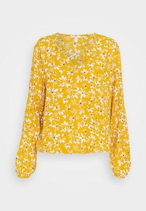 Blouse - brass yellow