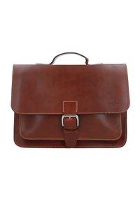Gusti Leder - BJARNE R - Briefcase - walnut - 0