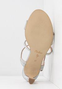 Menbur - Sandály na vysokém podpatku - silver - 6