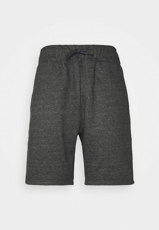 SHORTS - Short de sport - darkgrey melange