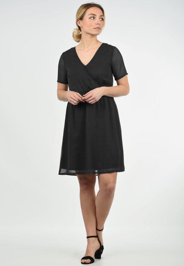 CHARLOTTE - Korte jurk - black