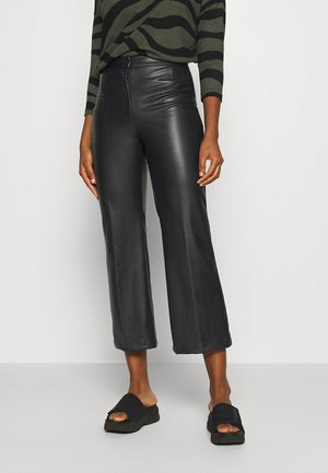 WENDY TROUSERS - Stoffhose - black dark