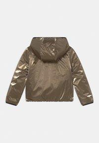 IKKS - REVERSIBLE WINTER - Winter jacket - navy foncé/or - 1