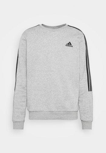 CUT - Sweatshirt - medium grey heather/black