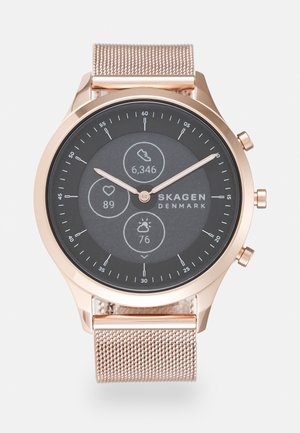 HYBRID - Smartwatch - rose gold-coloured