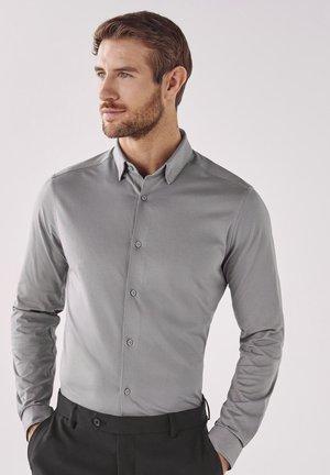 MOTION FLEX KNITTED - Zakelijk overhemd - grey
