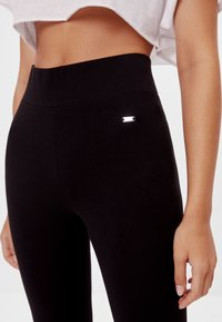 Bershka - Legging - black - 3