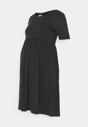 PCMKAMALA DRESS - Jersey dress - black