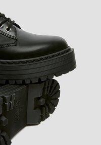 PULL&BEAR - Veterboots - black - 6