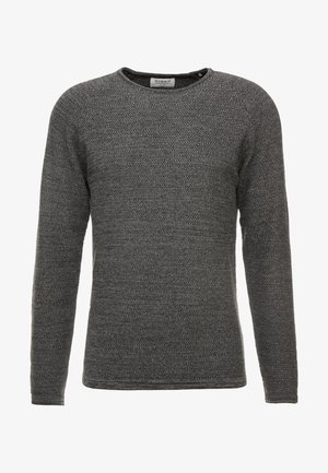 LAMP O-NECK - Jumper - dark grey melange