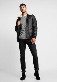 Tiffosi - FLYER - Faux leather jacket - black - 1