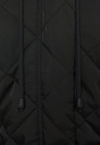 Missguided - HOODED DIAMOND QUILTED COAT - Classic coat - black - 2