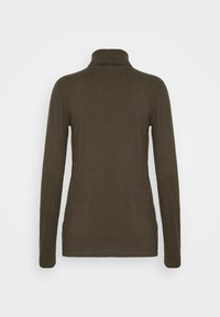 Marc O'Polo DENIM - LONG SLEEVE TURTLE NECK - Long sleeved top - utility olive - 1