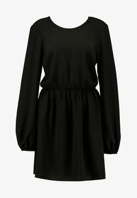 Nly by Nelly - VOLUME BACK FOCUS DRESS - Day dress - black - 5