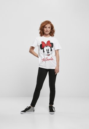 MINNIE MOUSE TEE - Print T-shirt - white
