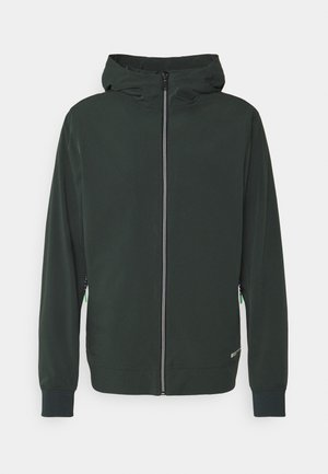 HOODED JACKET - Summer jacket - sea green
