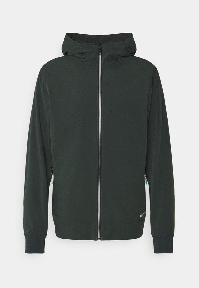 HOODED JACKET - Summer jacket - sea green