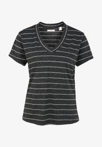 O'Neill - Basic T-shirt - black with white - 4