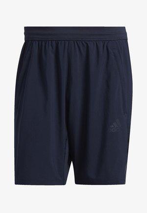 AEROREADY 3-STRIPES 8-INCH SHORTS - Pantalón corto de deporte - blue