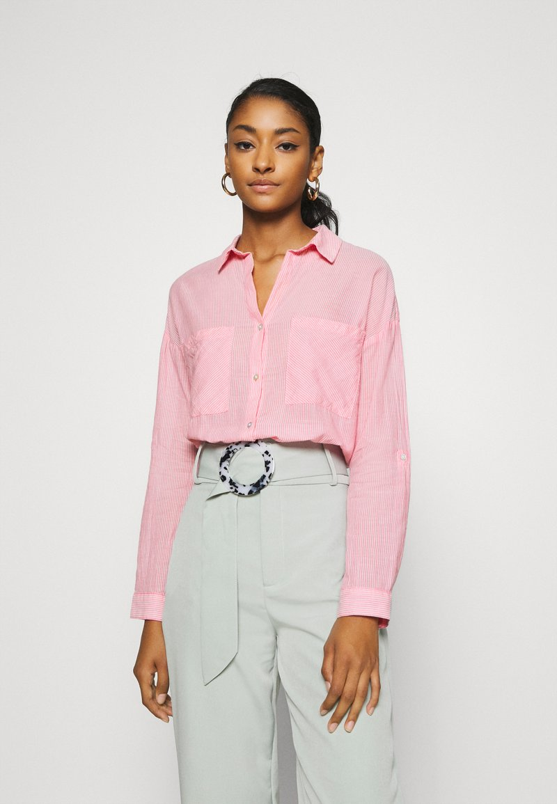 b.young - BYFIE - Button-down blouse - sorbet pink