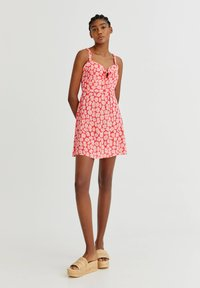 PULL&BEAR - WITH TIE DETAIL - Day dress - pink - 1