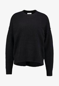 Cotton On - LUXE - Strikkegenser - black - 4
