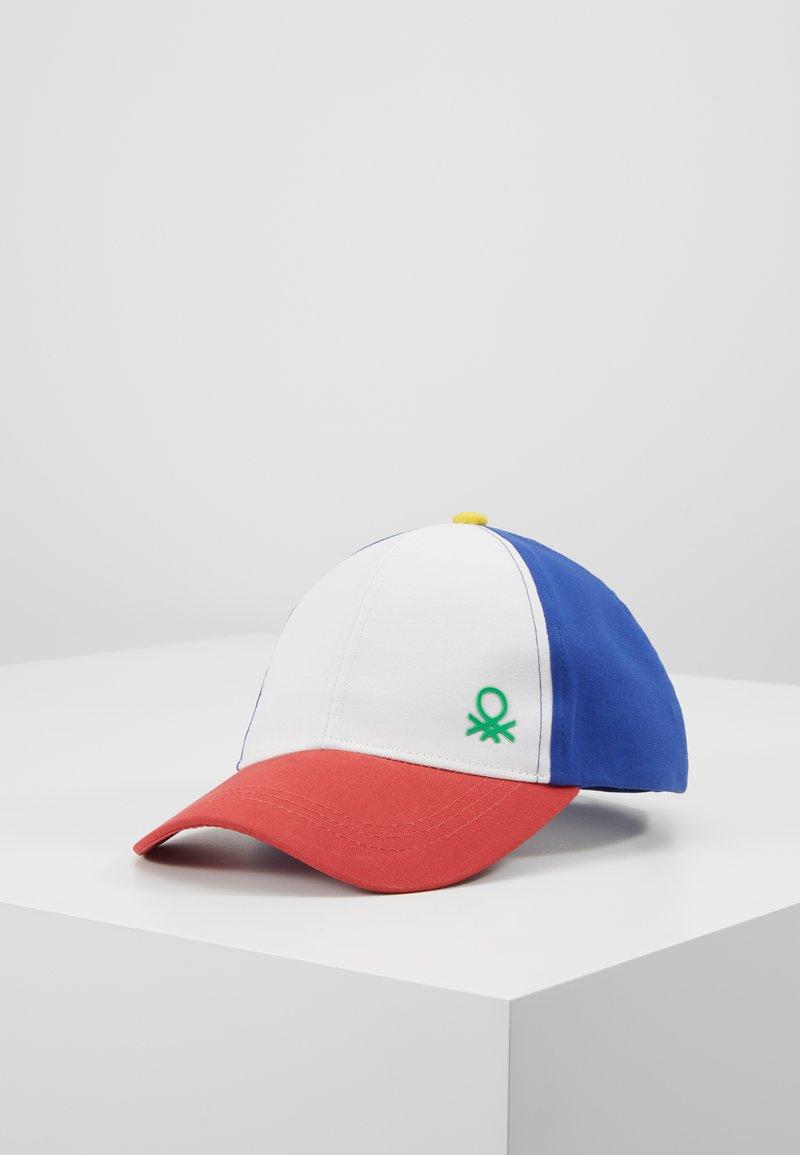 Benetton - WITH VISOR - Czapka z daszkiem - white