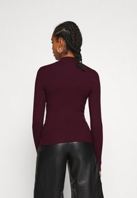 Even&Odd - Maglione - wine red - 2