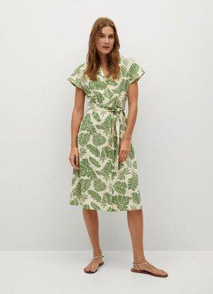 Vapaa-ajan mekko - grønn