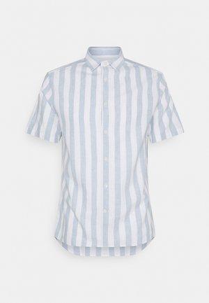 STRIPE FIT SHIRT - Shirt - steel blue