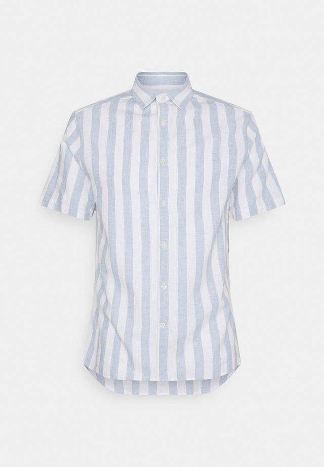 STRIPE FIT SHIRT - Camicia - steel blue