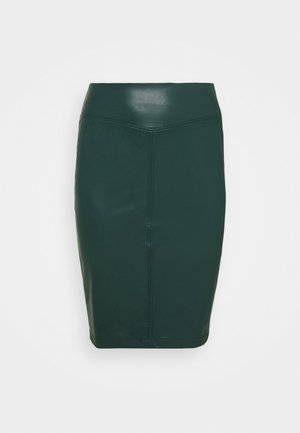 PULL ON PENCIL SKIRT - Pencil skirt - bottle green