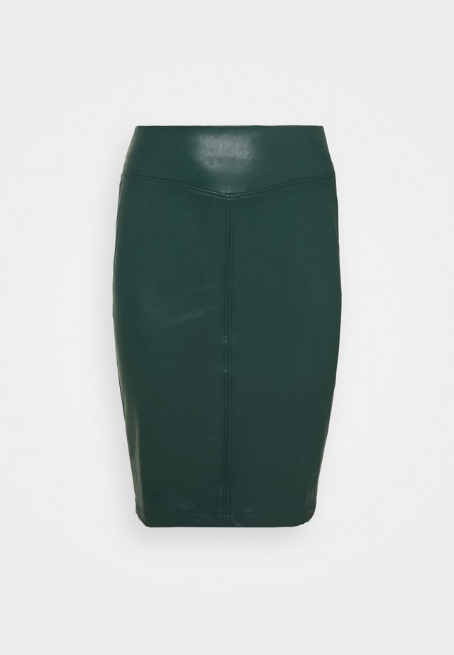 PULL ON PENCIL SKIRT - Blyantskjørt - bottle green