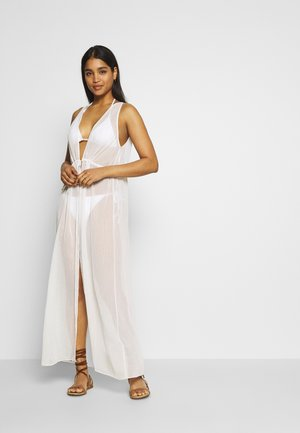 MAXI COVER UP - Beach accessory - ivory