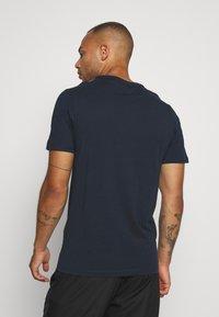 Jack & Jones - JCOJORDY TEE CREW NECK - Jednoduché triko - navy blazer - 2