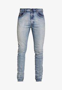 Diesel - D-AMNY-X - Slim fit jeans - blue denim - 3