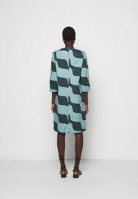 Marimekko - OLKOON TAIFUUNI DRESS - Day dress - turquoise/green - 2