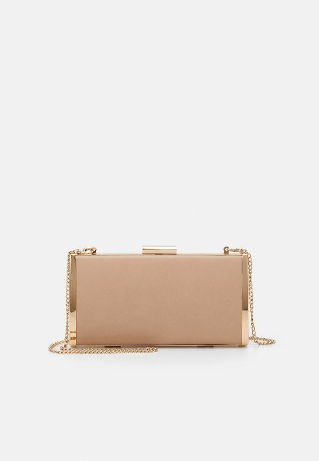 SOPHIA FRAMED HARDCASE - Clutch - nude/gold-coloured