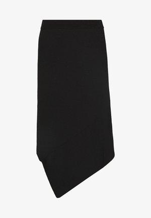 ALVIN LAYER SKIRT - A-line skirt - black