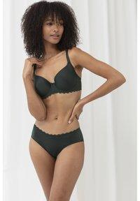 mey - PACER - Underwired bra - dark green - 1