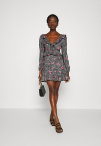 Topshop - DOUBLE TEA DRESS - Vestido informal - multi - 1