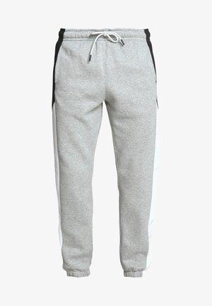 Verryttelyhousut - dark grey heather/white/black