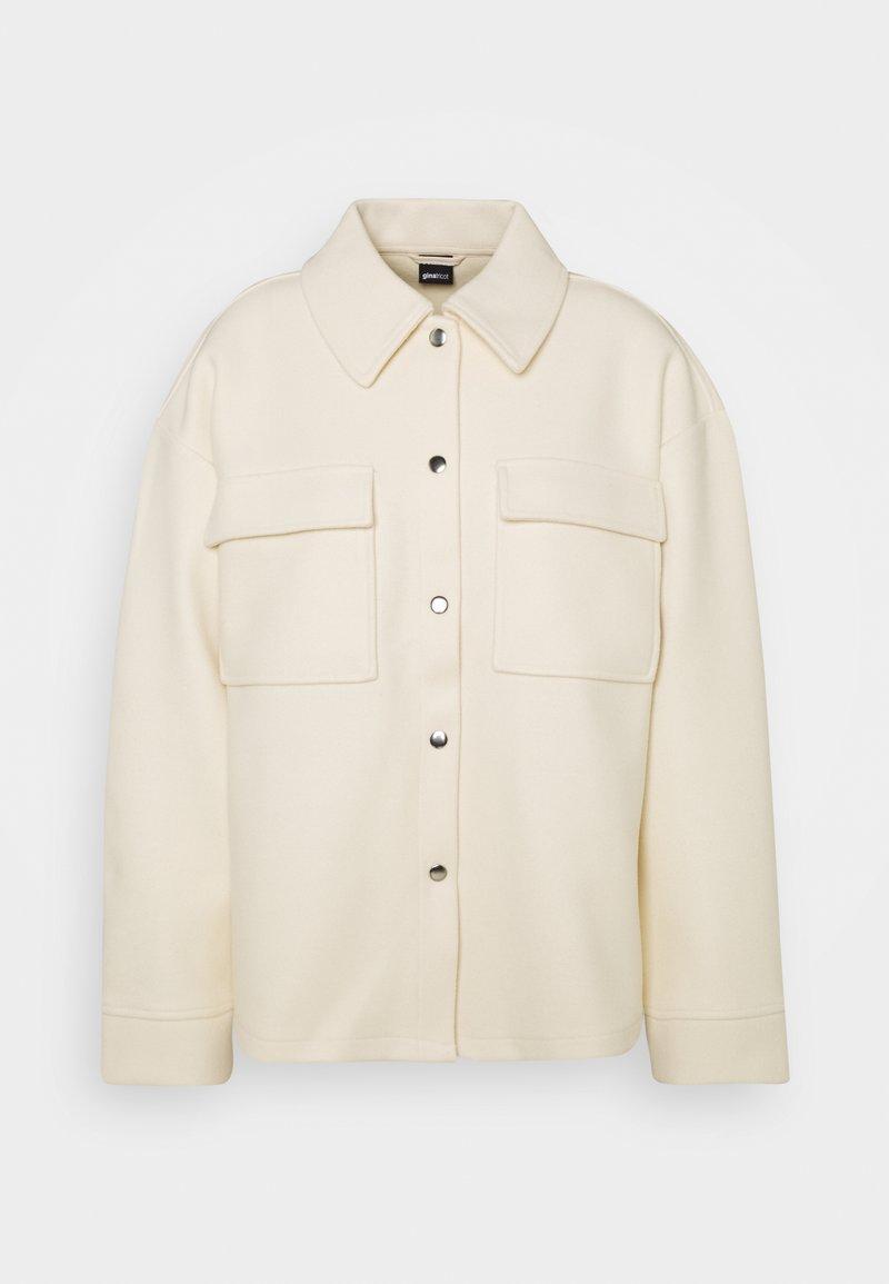 Gina Tricot - MAJKEN JACKET - Short coat - cloud cream