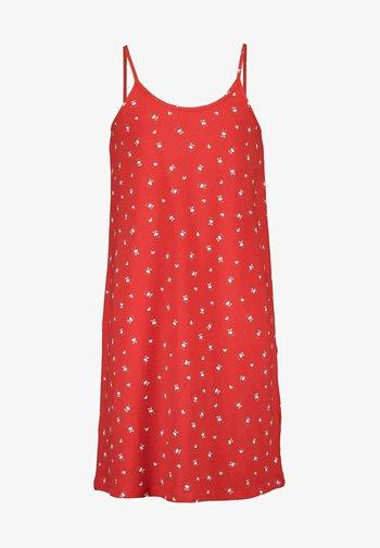 Jersey dress - rot