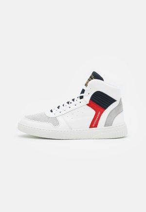 BRILLIANT - High-top trainers - white/blue/red/silver